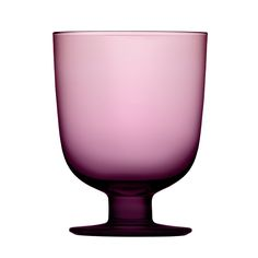 Lempi glass, dark lilac, set of 2 Pastel Purple, Lilac, Homemade Wine Recipes, Make Your Own Wine, Scandinavian Living, Nordic Design, Paint Shop, Porcelain Ceramics, Hurricane Glass