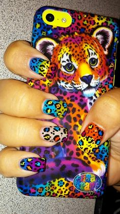Lisa Frank iPhone cases available at Five Below!