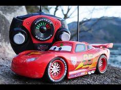 rc turbo racer disney cars toy lightning mcqueen youtube