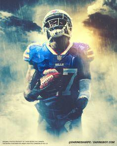 Buffalo Bills Football, Football Art, Sports Graphic Design, Nba Wallpapers, Football Wallpaper, Sports Art, Little Dogs, Creative Studio, Mafia
