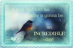 A little bird told me. I Live You, God Loves You, Positive Words, Powerful Words, Love People, Words Of Encouragement, Beautiful Moments, Cute Quotes, Woman Quotes