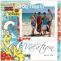 Fabulous Vacation by Quick Quotes - Scrapbook.com