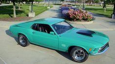 1970 Ford Mustang Boss  Maintenance/restoration of old/vintage vehicles: the material for new cogs/casters/gears/pads could be cast polyamide which I (Cast polyamide) can produce. My contact: tatjana.alic@windowslive.com