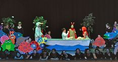 This weekend was showtime for The Little Mermaid. The kids did a great job even with approximately 100 actors and actresses, 20 scene ch...