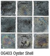 Oyster Shell from Crossville's Origins Glass mosaic collection