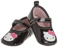 Rising Star Baby-girls Newborn Girls Hello Kitty Mary Jane Strap Shoes