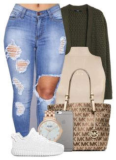A fashion look from May 2016 featuring MANGO cardigans, WearAll tops and Michael Kors tote bags. Browse and shop related looks. Cute Swag Outfits, Chill Outfits, Dope Outfits, Summer Outfits, Teen Fashion, Fashion Outfits, Womens Fashion, Teenager Outfits, Polyvore Outfits