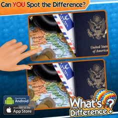 #WhatsTheDifference is the new viral game. Play free on iOS or Android: http://WhatsTheDifferenceApp.com