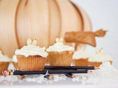 Gluten-free young-coconut cupcakes