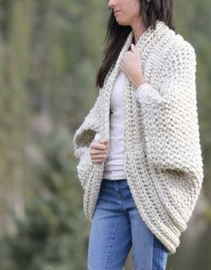 Thick white Cardigan which is part of a collection including 10 Free Crochet Cardigan Patterns all from AllFreeCrochet compiled by Nicki's Homemade Crafts - Crochet Cardigan, Crochet Jacket, Crochet Sweater, Crochet Wrap, Crochet Shawl Crochet Cardigan Pattern, Crochet Shawl, Free Crochet, Knit Crochet, Blanket Crochet, Crochet Jacket, Quick Crochet, Sweater Patterns, Crochet Sweaters
