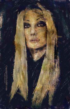 Portrayal Gothic Portrait - Galen Valle - Artist