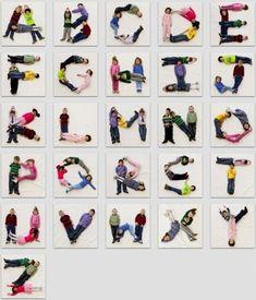 Photo alphabet - pre-K project