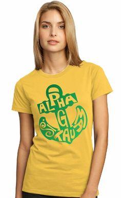 Alpha Sigma Tau Symbol Name T-Shirt