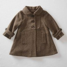 Adorable wool? winter coat for a toddler girl