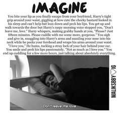 Harry imagine...i'm dead...just no.no