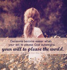 or please self...
