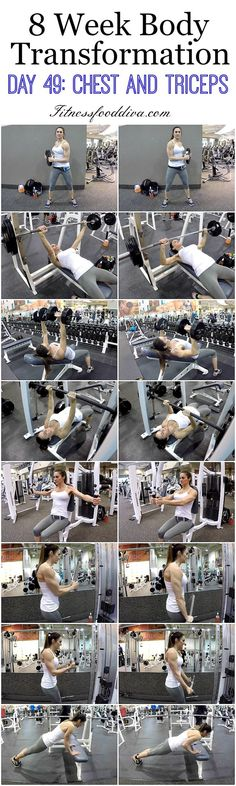 Chest and Triceps Workout | Posted By: NewHowToLoseBellyFat.com