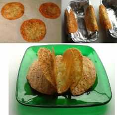 Kathryn's Low Carb Kitchen: ~ Provolone Taco Shells