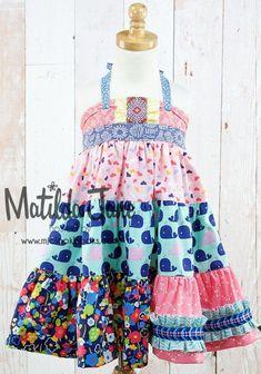 Ellie Dresses ~ Tiered & Paneled   Mjc LookBooks - My Captain Tiered Ellie Dress