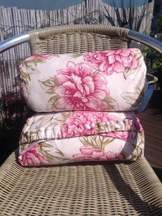 Bolster cushion covers made for deck chairs