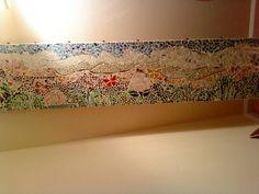 old bar top mosaic (w/ Gary from SpongeBob); by Matt, Robin & me