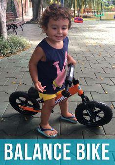 Conheça a Balance Bike, a bike perfeita para crianças.
