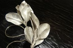 Boxwood Leaf Cluster Earrings