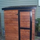 Ana White | Small Cedar Fence Picket Storage Shed - DIY Projects