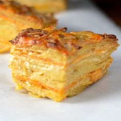 Two Layered Potatoes with manchego cheese and smoked gouda!