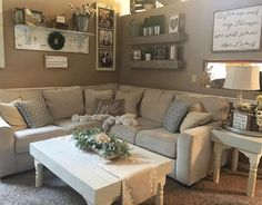 Our Salonne sectional is looking right at home in cozy living room. 🌿🌿🌿 Shop it at the link in our bio. Farm House Living Room, Interior, Home, Room Remodeling, House Interior, Cozy Living, Cute Living Room, Interior Design, Living Decor