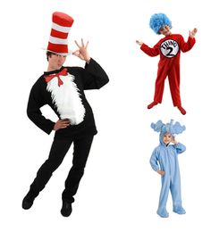 Family costume ideas: Dr. Seuss characters
