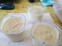 Crème Danette à la yaourtière – LES RECETTES DE CALINE