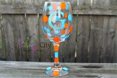 Personalized Wine Glass Bachelorette Birthday Wedding party birthday by ahindle78 on Etsy https://www.etsy.com/listing/120947624/personalized-wine-glass-bachelorette