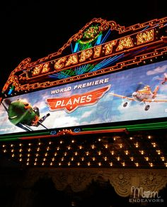 A recap of the Hollywood World Premiere of Disney's Planes - celeb sightings, red carpet photos, and more! #Disney #DisneyPlanesPremiere
