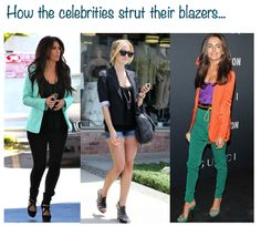 How To Style A Blazer... - My Fash Avenue