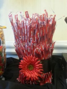 Twizzler Candy Bouquet