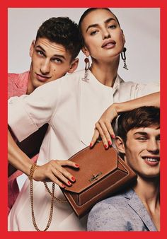 David Trulik and Kit Butler (on right) by Gregory Harris for Bally Spring Summer 2017 Campaign