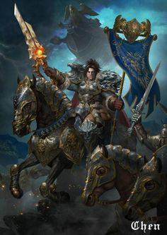Let's share our favorite Warcraft fan-art!  Page 307  Scrolls of Lore Foru World Of Warcraft Game, Warcraft Movie, Warcraft Characters, Warcraft Art, Fantasy Characters, Varian Wrynn, Overwatch, World Of Warcraft Wallpaper, Death Knight