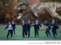 Ummm... I know, as a company we would have no control over the wedding pictures, but damn... This is hilarious.