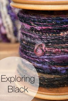 Hand Spun Art Yarn - Pinki Punki