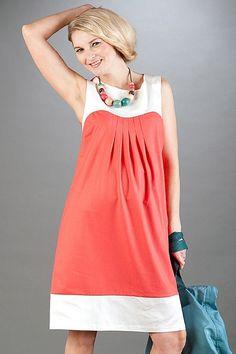 dc34c503dca5 Tehotenské šaty bez rukávov na leto v ružovej farbe