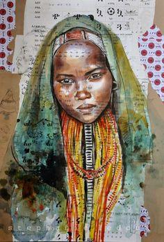Stephanie Ledoux - Artists around the world in http://www.maslindo.com
