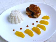 Préparation: 20 minutes ~ Cuisson: 10 minutes ~ Difficulté : ♥ ~ Coût: ♥♥ Poulet mariné à l'orange Bonjour, Poulet mariné à l'orange… ou pourquoi faire simple quand on peut f…