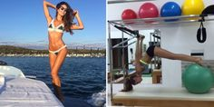 13 Fitness Moves That Give Victoria's Secret Model Izabel Goulart Her Insane Body  - ELLE.com