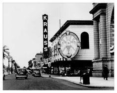 Krauss department store, Canal Street, New Orleans, LA
