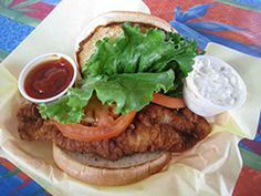 Cafe Michael Burger | Cafe Michael Burger has been an island favorite for over 20 years. With a wide variety of hamburgers to choose from, ranging from the classic Island Deluxe Burger to the hot and sizzlin' Campeche Burger, this is the place to go! They're also famous for their German dishes #Galveston #restaurant #westend