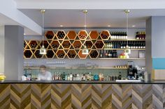 Ask Italian restaurant in Marlborough by Turnerbates Design & Architecture