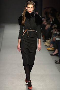 Miu Miu Fall 2003 Ready-to-Wear Fashion Show - Louise Pedersen, Miuccia Prada