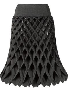 Shop Junya Watanabe Comme Des Garçons geometric textured skirt in A'maree's from the world's best independent boutiques at farfetch.com. Shop 300 boutiques at one address.