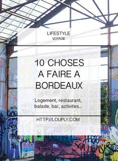 Bordeaux bon plan, bonnes adresses, où manger